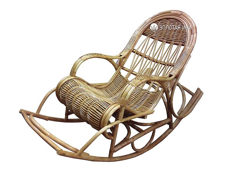 Кресла качалка своими руками из лозы 718